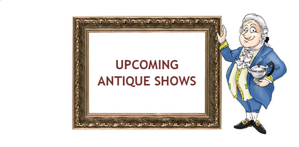upcoming antique and silver shows